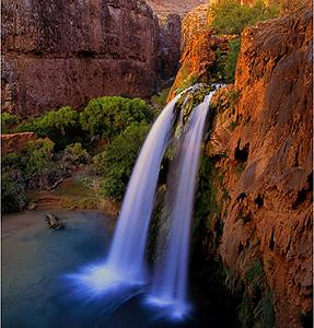 Havasu Falls, Grand Canyon  Photograph by Steven King
