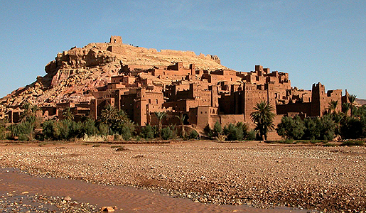 The Ancient fortified city of Ait-Ben-Haddou. Photo: Amy Kotkin