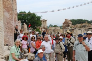 Smithsonian Travelers enjoy Ephesus