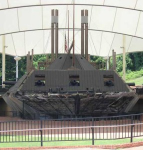 The USS Cairo Gunboat today, Photo Courtesy of the National Park Service