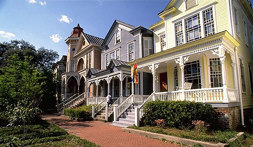 Victorian Homes in Savannah