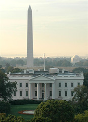 View from the rooftop terrace of the Hay-Adams Hotel. Photo: Courtesy of Flickr user Freddthompson.
