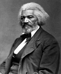 Frederick Douglass, ca. 1879. Photograph by George K. Warren (d. 1884). Photo: National Archives