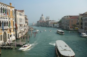 Venice's Grand Canal. Photo: William J. Higgins