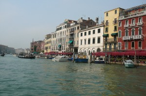 View of the Grand Canal. Photo: William J. Higgins.