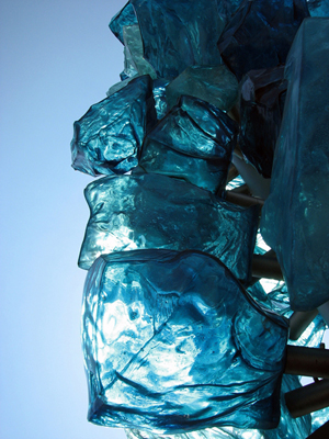 Chihuly's Crystal Towers at Tacoma's Museum of Glass. Photo: Flickr user ralphhogaboom.