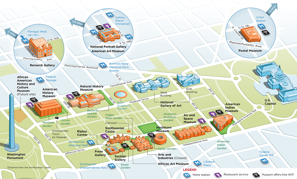 Smithsonian Washington Dc Map.Smithsonian Institution Smithsonian
